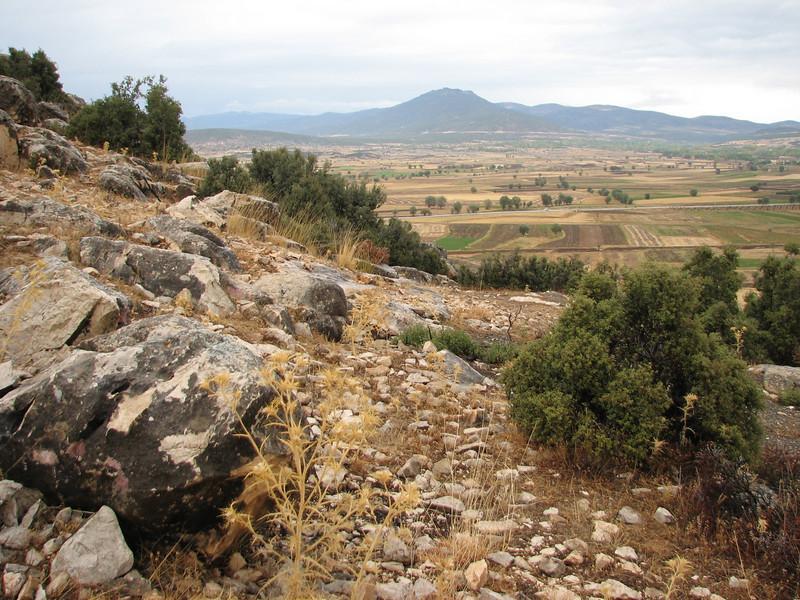 landscape near Golhisar (near Golhisar, Southwestern Turkey)