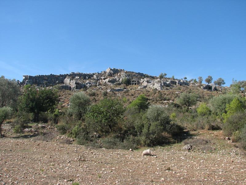 archaeological site Xanthos, (Southwestern Turkey)