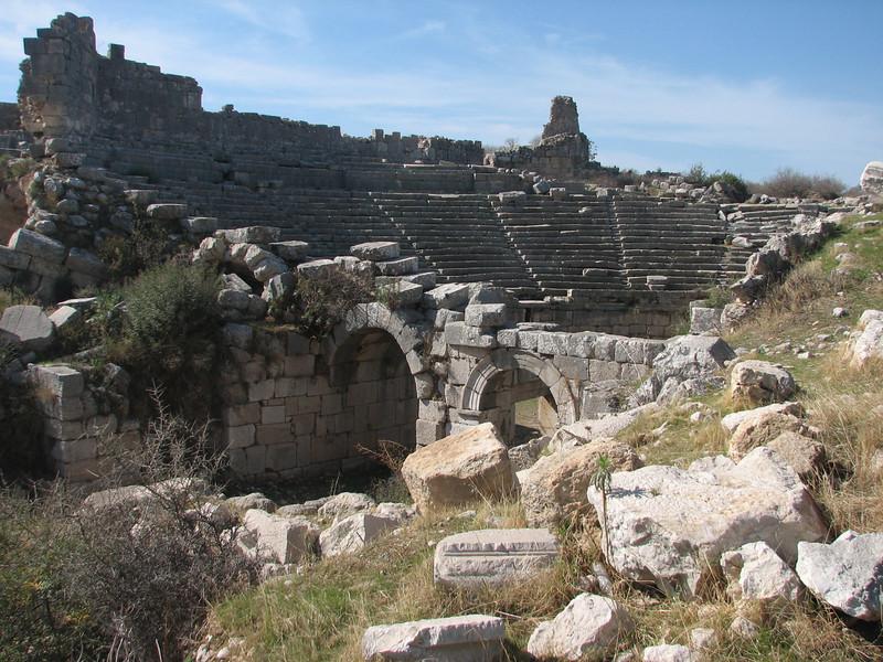 archaeological site Xanthos (Southwestern Turkey)