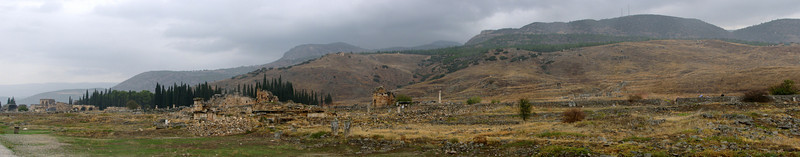 archaeological site Hierapolis, (Pamukkale)