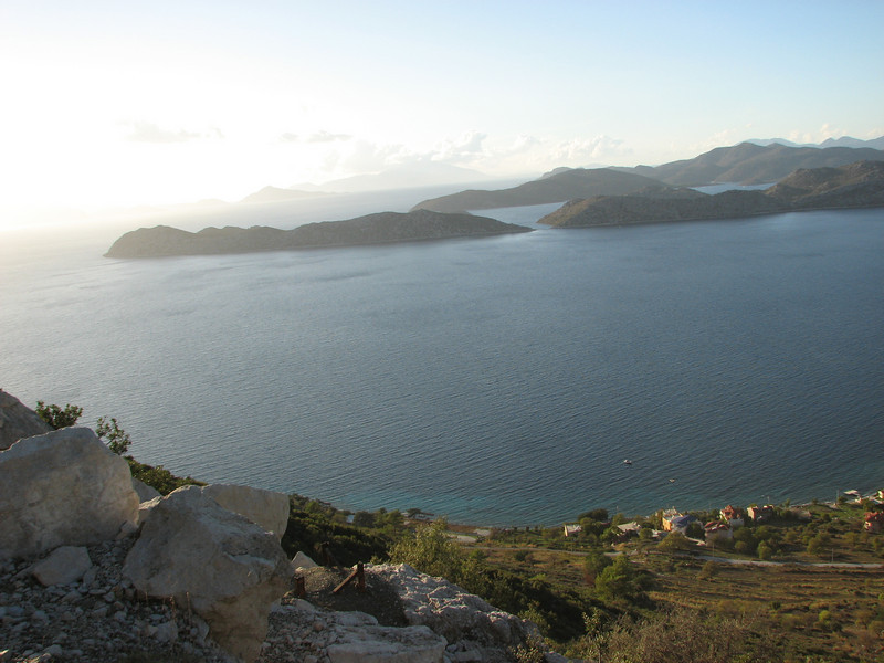 Aegean Sea (Between Bozburun and Taslica, just past Sögüt Köy)