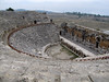 theatre at archaeological site Hierapolis A.D. 3th Century (Pamukkale)