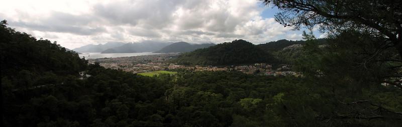 panorama landscape near Marmaris