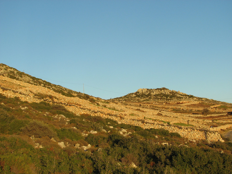 landscape near Taslica