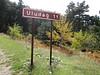 sign just after entrance to Uludağ Millî Parkı, 1350m