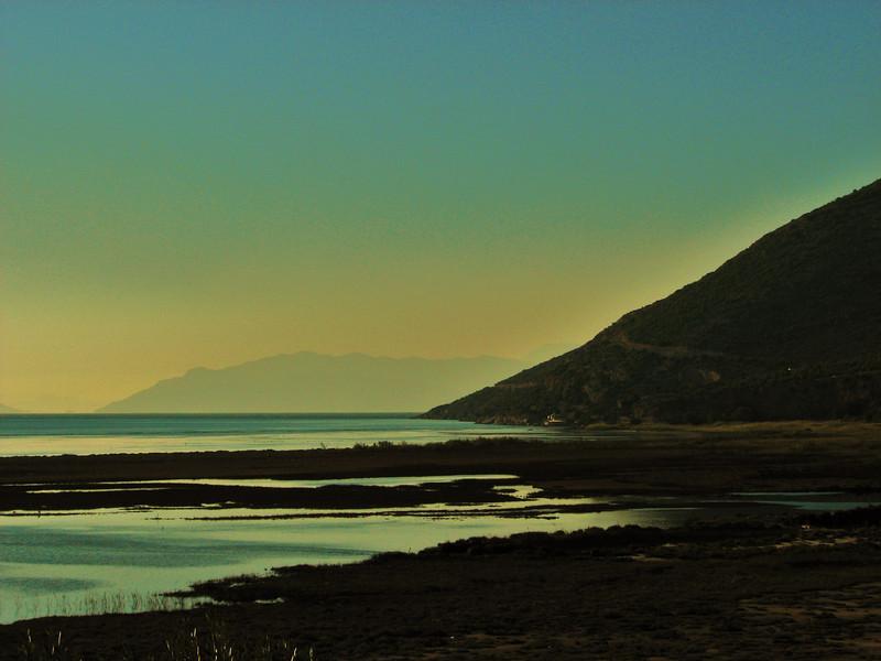 View of Samos, from the Dilek Peninsula (west of Turburgazi, southern coast of Dilek Peninsula)