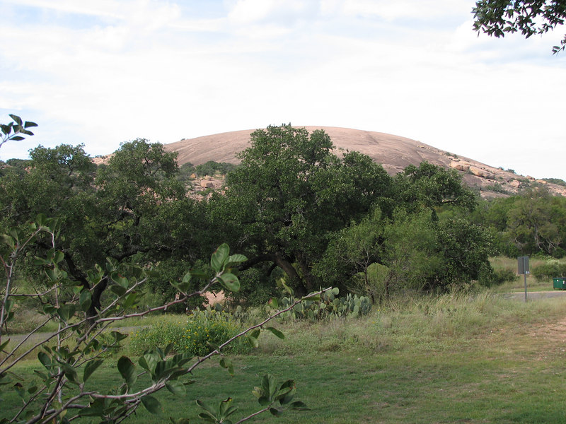 Enchanted Rock (taken at Enchanted Rock state park in TX)