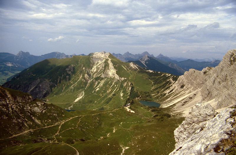 Ällgau & Tannheimer Alps, border region.