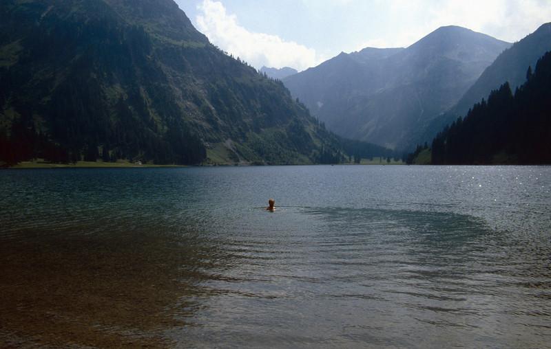 Haldensee, Tannheimer Alps, Austria
