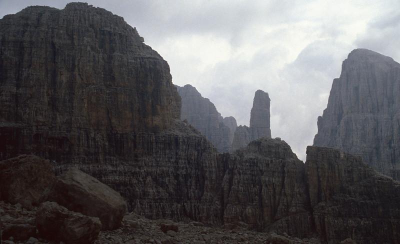 "Brenta Dolomites with ""Brenta Bassa"""