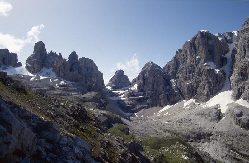 Brenta mountains North Italy