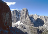 Crozzom 3135m and Cima Tosa 3173m