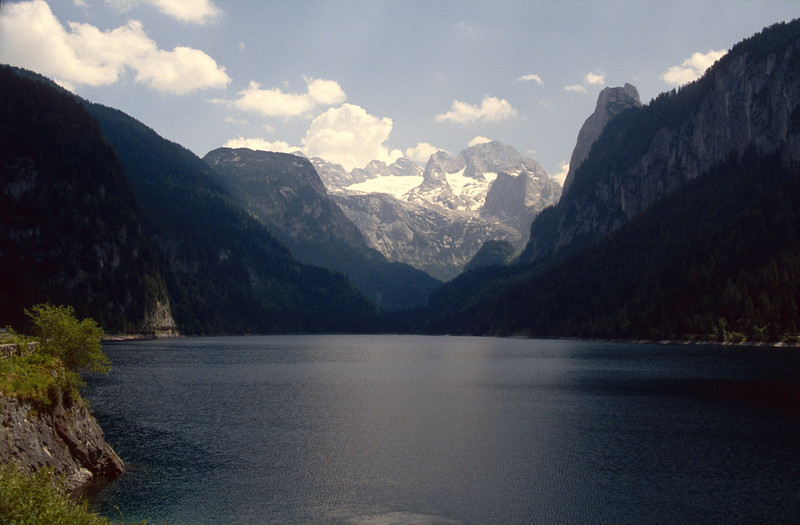 Vorderer Gosau See and Dachstein mountains