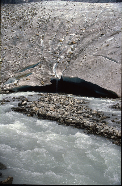 Glacier mouth (Glacier Blanc