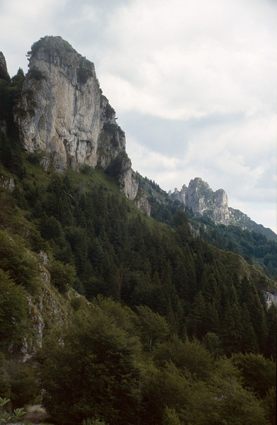 The limestone Giudicarian Alps
