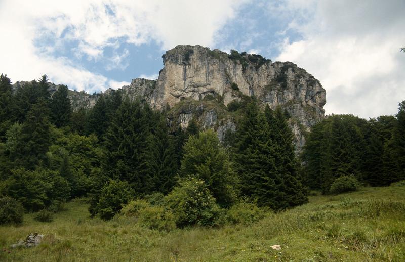 The limestone Giudicarian Alps