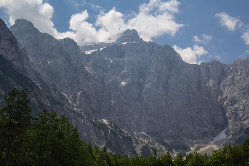 North Face Mount Triglav