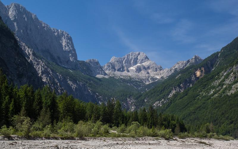 Mount Jalovec 2643m