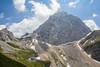 Mountain Mangart 2679m,