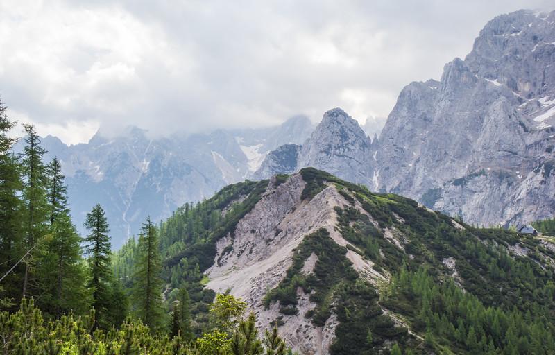 West side Vršič Pass