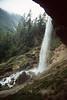 Waterfall 55m (Triglav National Park, Julian Alps, Slovenia)