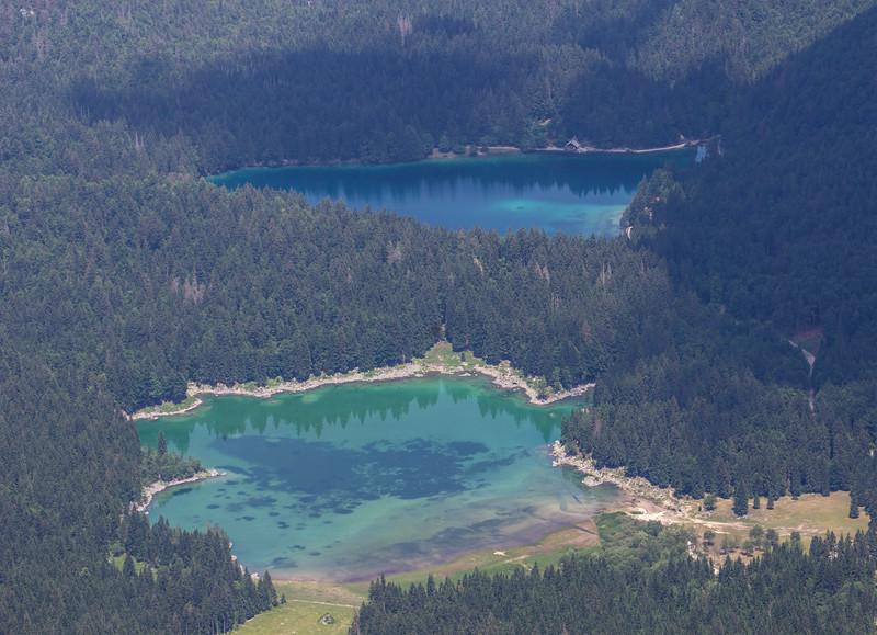 Mount Margart view: Fusine Lakes, Italy