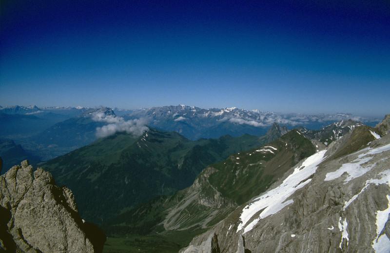 """View, Schesaplana 2965m. """"Rätikon"""""""
