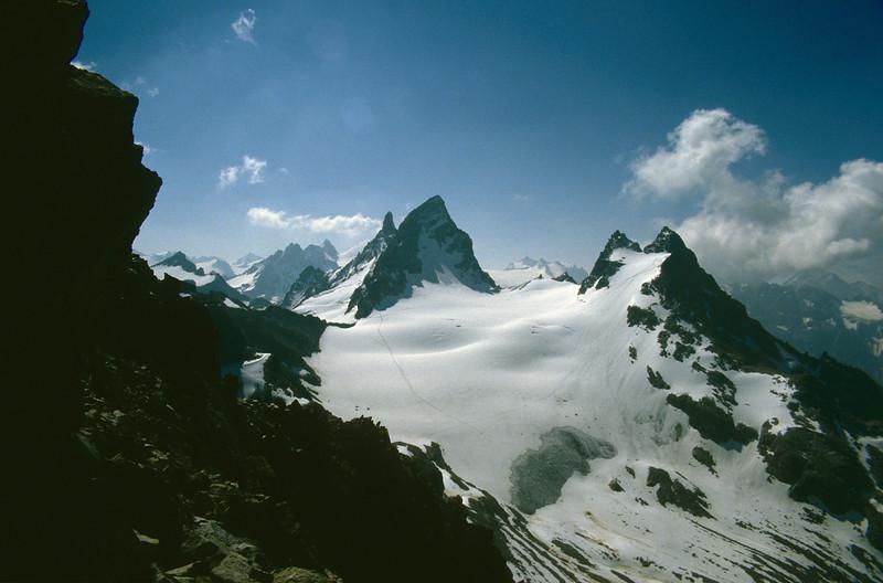 Winterberg 2924m.- Gross Litzner 3109m.- Kl. 3032m. and Gr. Seehorn 3121m