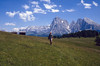 Seiseralm, largest meadows area of the Alps, 2000m