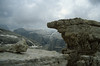 limestone rock habitat, Piz Boe 3000m