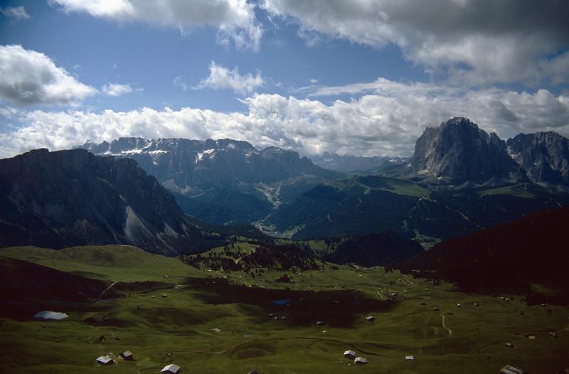 meadows of the Seiser Alm 2000m