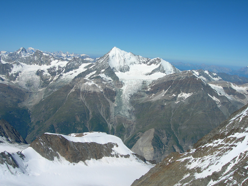 Weisshorn and Bishorn