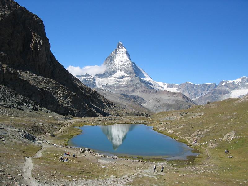 Matterhorn and Riffelsee 2757m