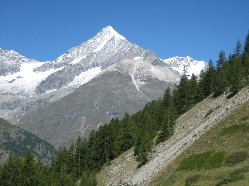 Weisshorn 4505m.