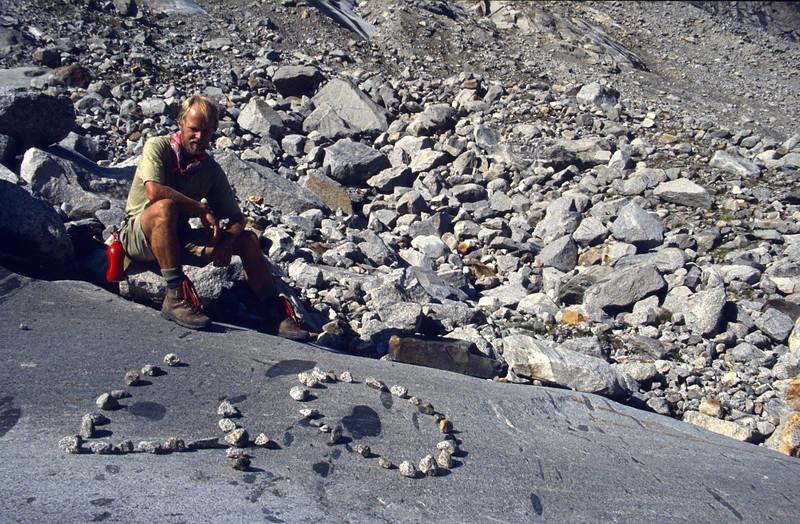 Marijn 40 th  birthday, Schwarzenstein glacier