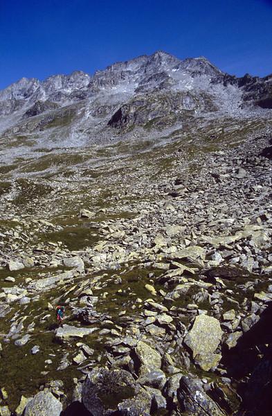 stony area