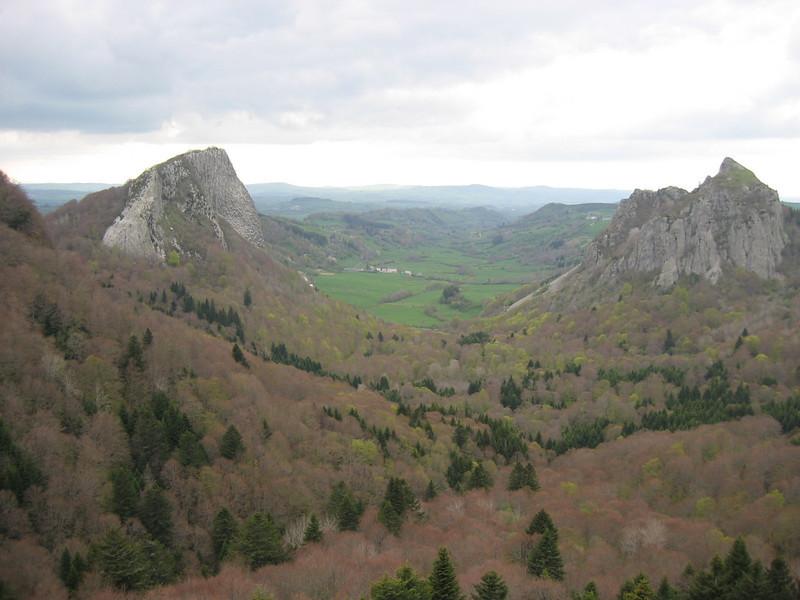 Col de Guerny, Auvergne