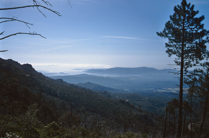 landscape, the mountains of Corsica