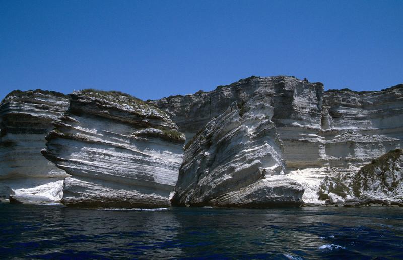 Corsica coast near Bonifacio