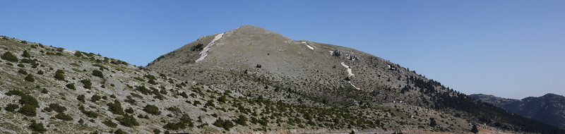Mount Menalo 1980m, N of Tripoli