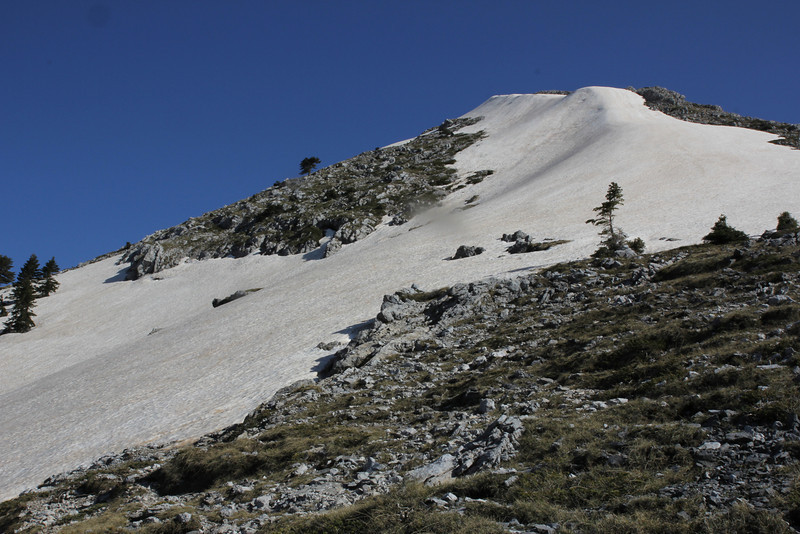 Mount Helmos (Chelmos) 2341m