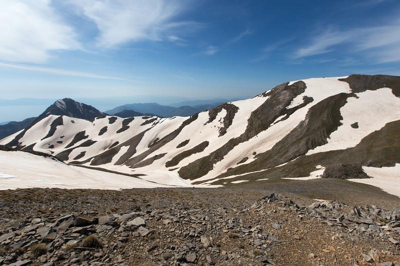 Alpine scenery near Profitis Ilias