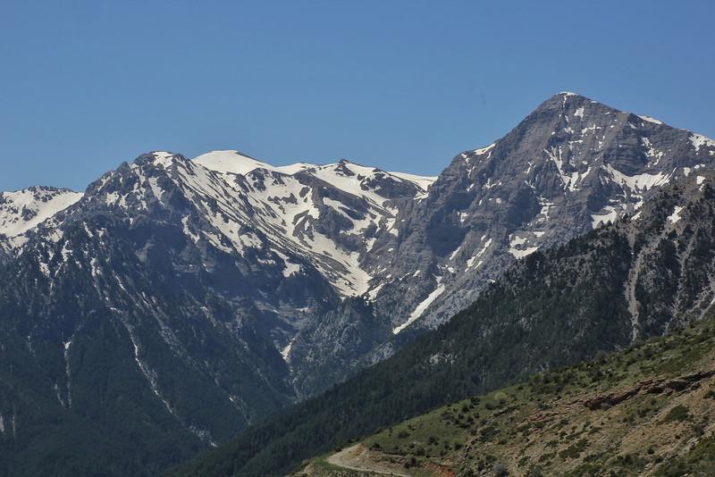 Mount Helmos 2341m, SE of Kalavrita