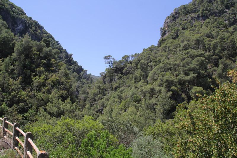 Mili Gorge, N of Kambos,  Kalathio mountains, Mani,