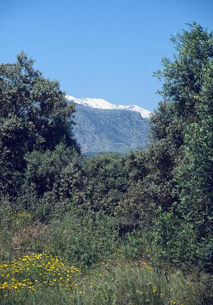 Psiloritis 2456m highest mountain of Crete