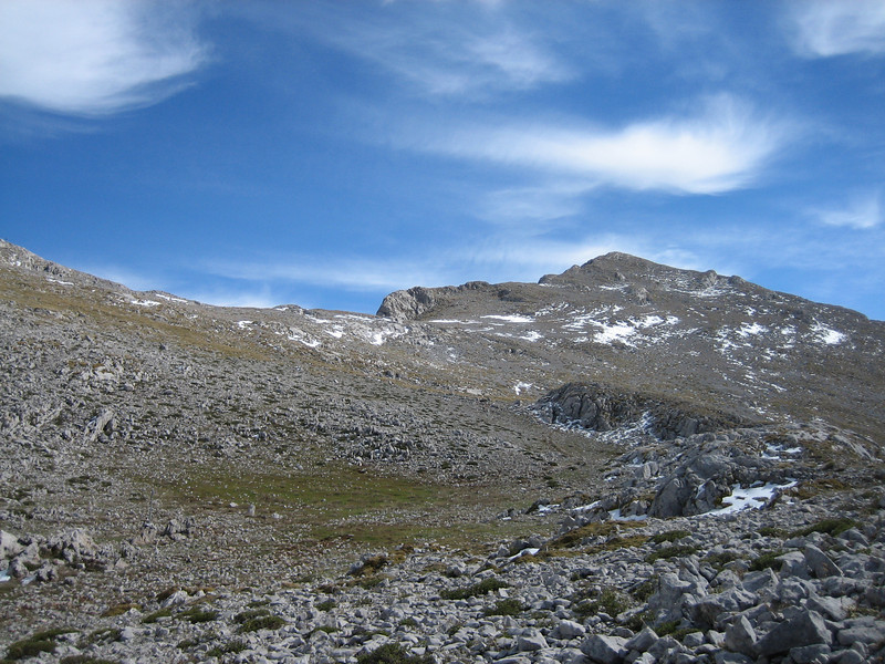Summit area (Mount Parnassos)