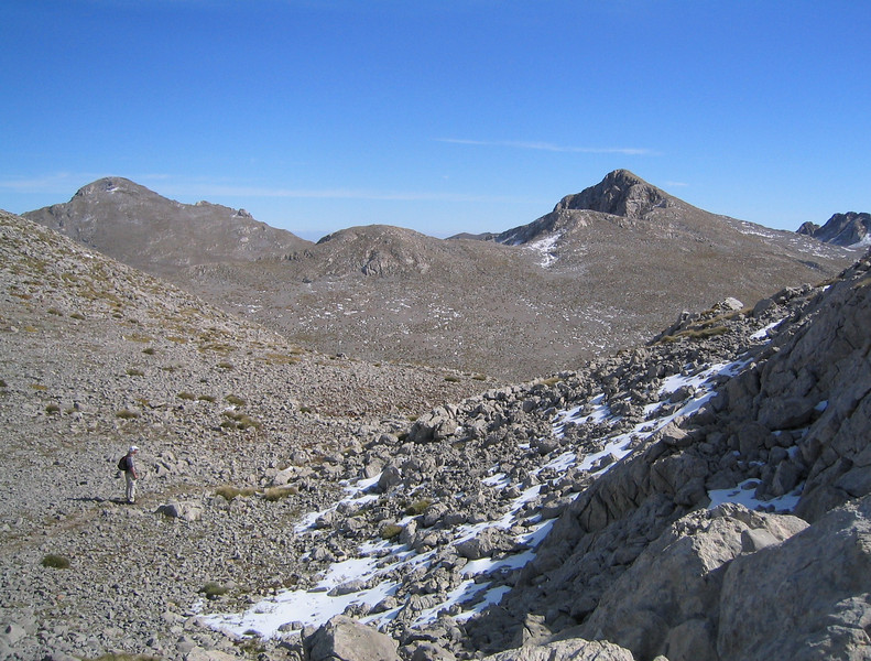 Summit area (Mount Parnassos)