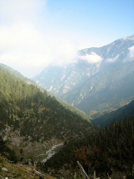 Mount Olympus National Park, (between Refuge A and Prionia, Mount Olympus)