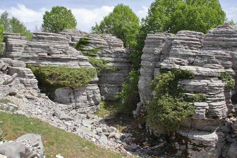 1300m Limestone rocks near the Vikos Gorge, Monondendri