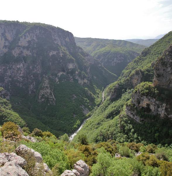 Vikos Gorge, near the Monastery of Monondendri